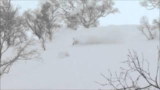 北海道ライオンアドベンチャー BCツアー 2012 2 6 ニトヌプリ