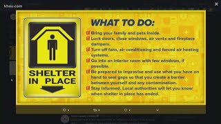What to do in a shelter-in-place