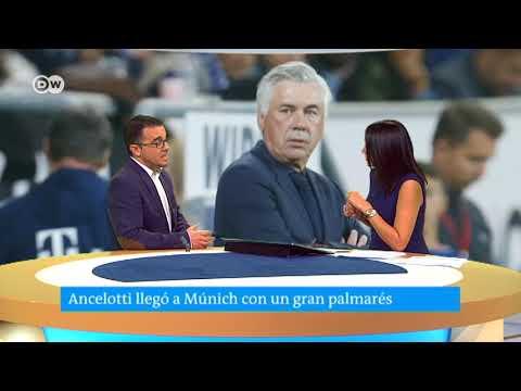 Carlos Ancelotti despedido del Bayern Múnich