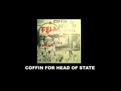 Fela Anikulapo Kuti  and Africa 70 Coffin For Head of State LP