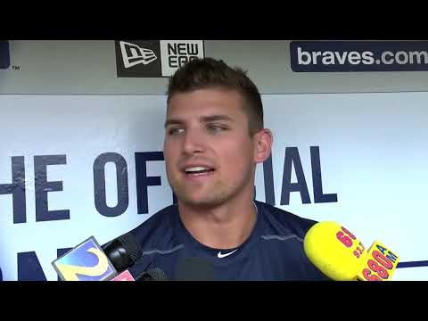 Braves prospect Austin Riley arrives for MLB debut