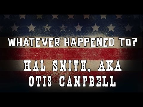 Whatever Happened to Otis Campbell of the Andy Griffith ?