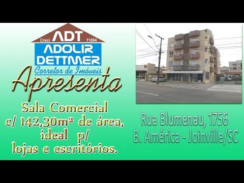 Sala Comercial Joinville América 2103333