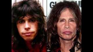 "AGING ""Male"" ROCKSTARS  ""Then & Now""  Part 1"