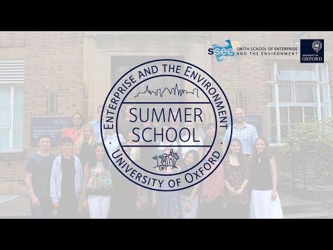 Enterprise and the Environment Summer School