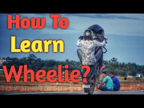 How To Learn Wheelie On Any Bike - In 5 Minutes In Hindi | Stunt Tutorial Video