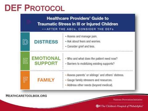 An Introduction to the Delivery of Trauma-Informed Care