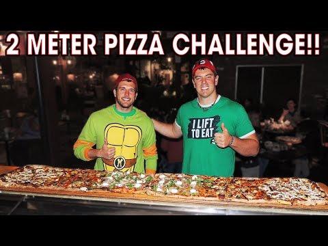 Criniti's $250 Pizza Challenge w/ Magic Mitch (2 METERS)