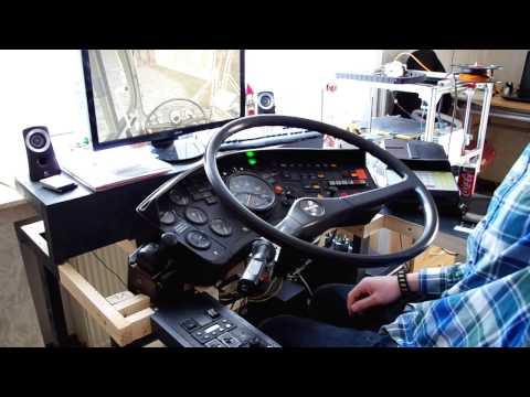 Как сделать руль 3d инструктора 826