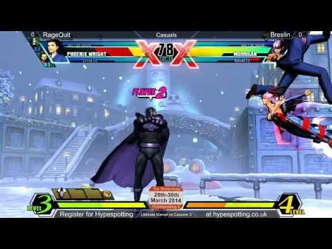 RageQuit vs Breslin UMvC3 Saltire Suite 17/02/14