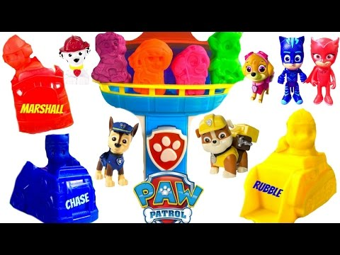 Thumbnail: Best Learning Colors Video for Children - Paw Patrol Recue Play Doh Set