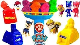 Best Learning Colors Video for Children  - Paw Patrol Recue Play Doh Set