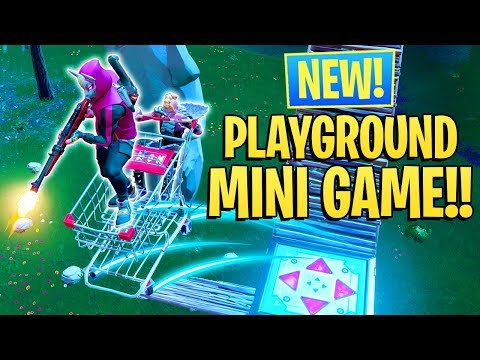 *NEW* FORTNITE MINI-GAME IN PLAYGROUND MODE!! (Fortnite Playground Game Mode)
