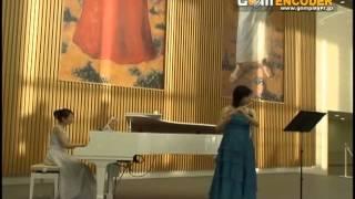 さくら(独唱)森山直太朗のフルート&ピアノバージョン。フルート横山...