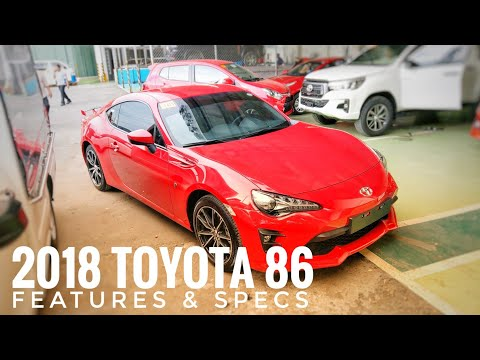 Toyota 86 AT | Pure Red | Features & Specs (Philippines)