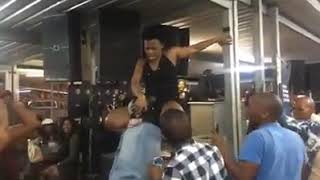 WATCH:Zodwa WaBantu Licked Her Privates On Stage!!!!! O.M.G!!!!