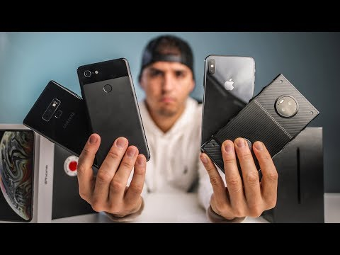 Smartphone Video Shootout: IPhone Xs Max Vs. Pixel 3 XL Vs. Samsung Note9 Vs. RED Hydrogen