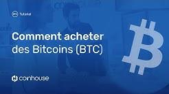 Comment acheter des Bitcoins (BTC) ?
