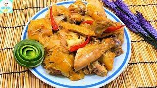 GÀ KHÌA NƯỚC CAM | ăn no bể bụng với món gà thơm ngon | Bếp Của Vợ