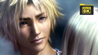 Final Fantasy X-2 Yuna and Tidus Death 8k  Remastered with Machine Learning AI