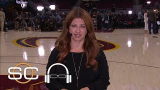 Rachel nichols says cavaliers feel series should be 2-2 | sc with svp | june 10, 2017