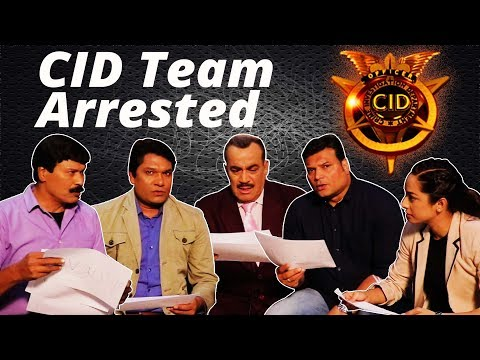 'Who Could Be Arrested For' In Team CID