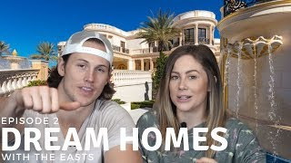 TOURING AMAZING DREAM HOUSE #1 | Shawn Johnson and Andrew East (House Hunters)