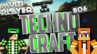 Direwolf 20 1.6.4 - TechnoCraft Co-Op E06 - Miniera + Shaders e Optifine | ITA
