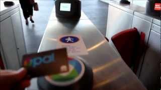 Opal Card Barrier Mounted Reader