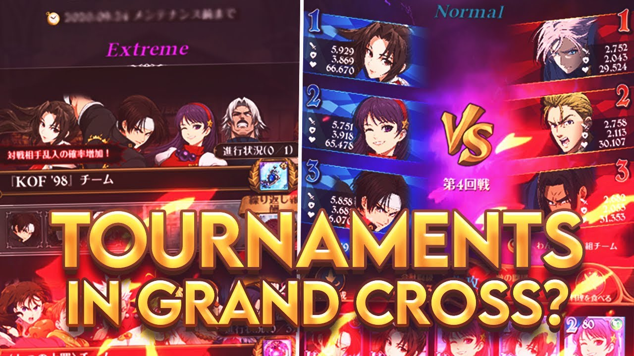 I LOVE THIS GAMEMODE!!! NEW KOF TOURNAMENT GAMEMODE IS GREAT! | Seven Deadly Sins: Grand Cross