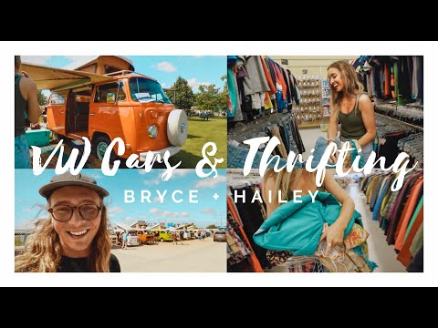 VW CAR SHOW + THRIFT SHOPPING