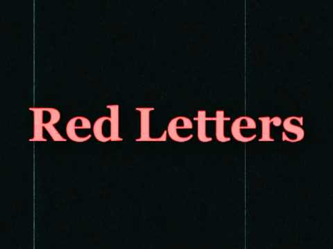 DC Talk | Red Letters