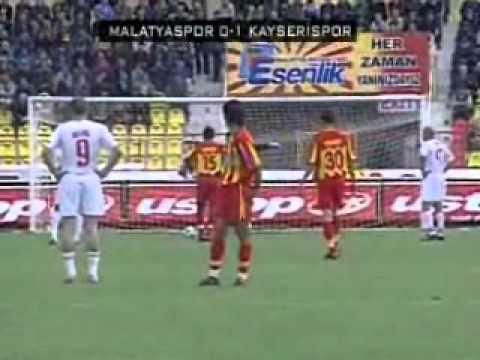 Kayserispor 204/2005 Sezonu Golleri 1.yarı