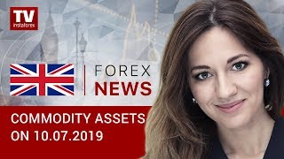 InstaForex tv news: 10.07.2019: US oil inventories decline, ruble under pressure (Brent, RUB, USD)