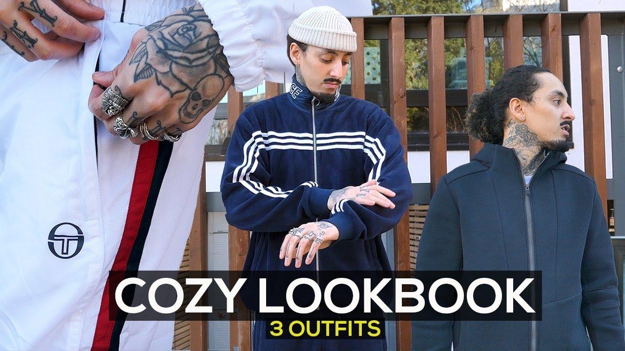 COZY STREETWEAR LOOKBOOK   OUTFIT IDEAS   MENS FASHION 2019
