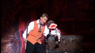 Barry Chuckle With Tiny Tim