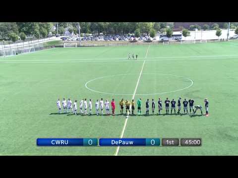 DePauw University Men's Soccer vs. Case Western Reserve