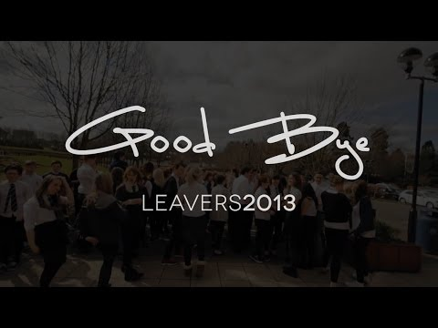 Bell Baxter High School: Leavers Video 2013
