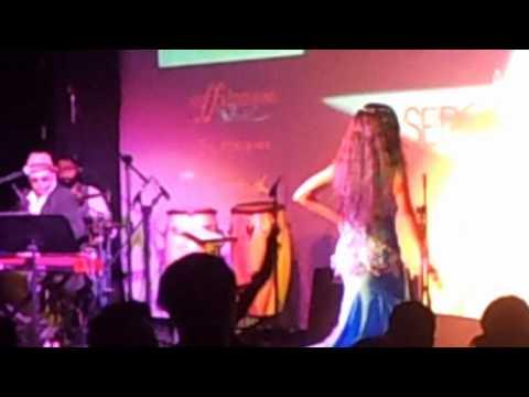 Leena Vie Belly Dance Improvisation At Blue Frog, Delhi - World Music Day 2012