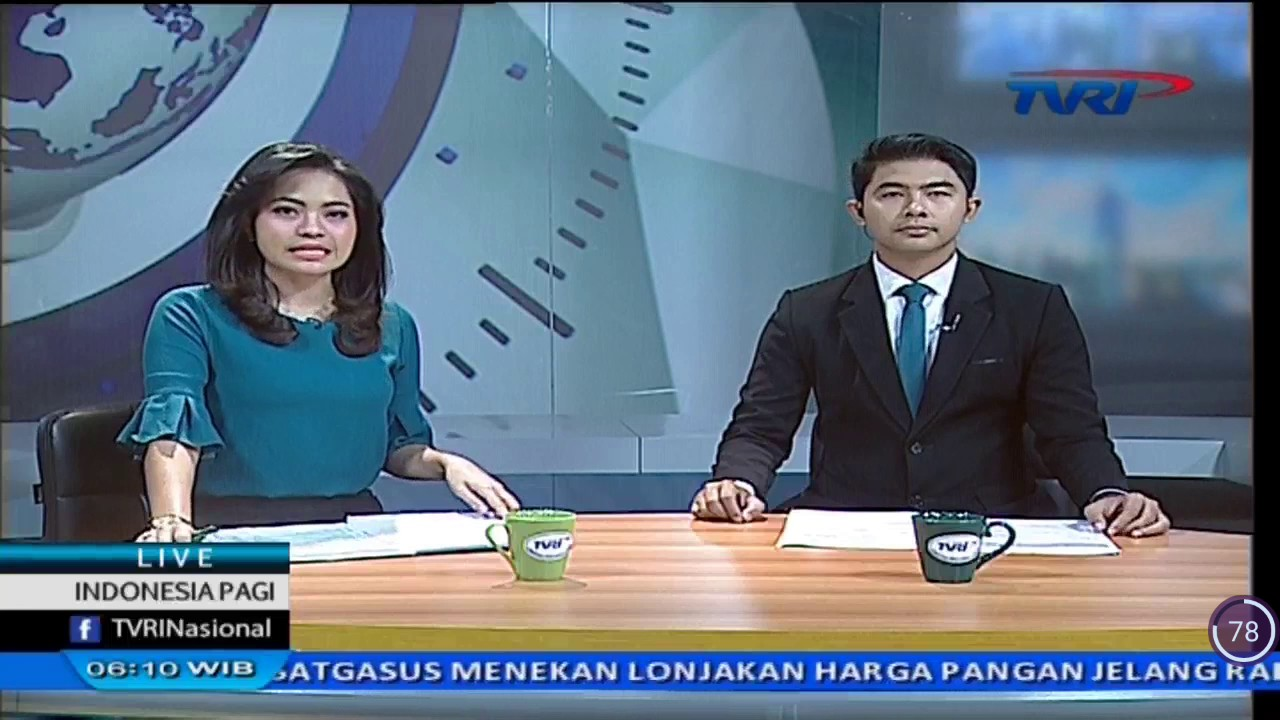 Livecross Indonesia Pagi Tvri Nasional Reporter News Anchor News