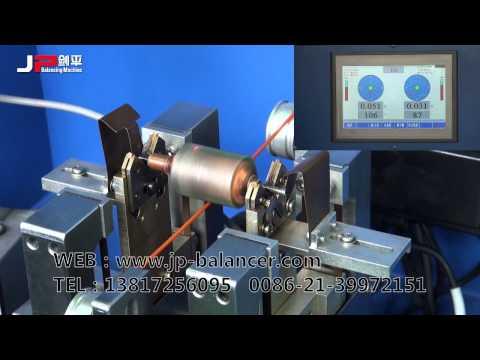 Micro Rotor Balancing Machine