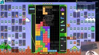 Tetris 99 Invictus (Super Mario Bros) Wumbo vs Tafo