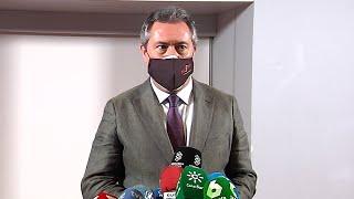 """Espadas se ofrece a liderar proyecto """"revulsivo"""" de PSOE-A"""