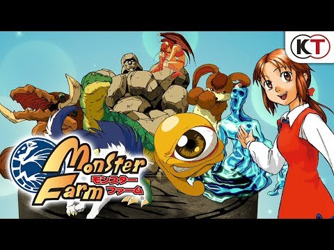 Monster Rancher on Switch retains that PSOne style