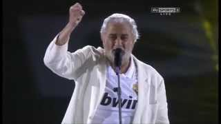 Plácido Domingo - HALA MADRID (11-12 League Celebration)
