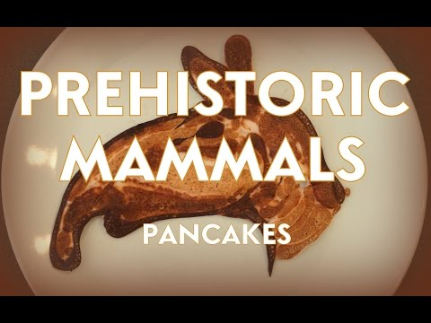 Prehistoric Mammals | Pancake Art!