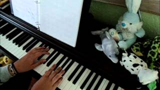 be pure my child and sleep piano tutorial 07 ghost
