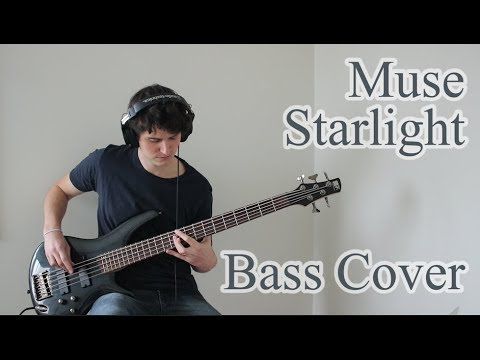 Muse - Starlight (Bass Cover With Tabs)