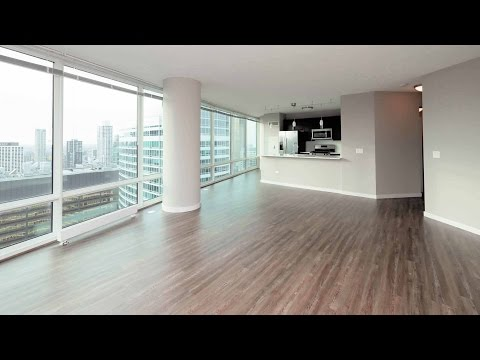Tour a 48th-floor 3-bedroom, 2-bath at Streeterville
