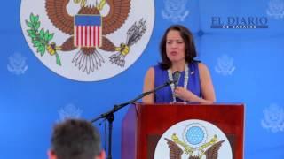 Kelly Keiderling, tras ser expulsada de Venezuela por Nicolás Maduro